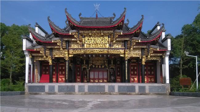 乐平洪浩森林公园戏台