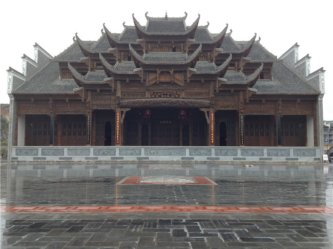 瓮安草堂大戏楼
